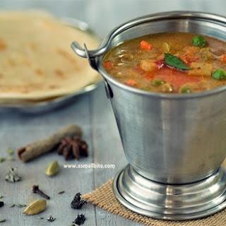 Vegetable Salna | Parotta Chalna | Parotta Sidedish