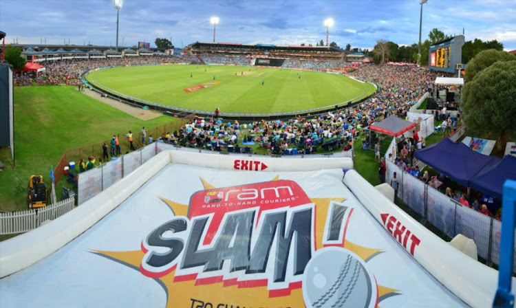 A file photo of the general view during the Ram Slam T20 Challenge final match between The Unlimited Titans and Sunfoil Dolphins at SuperSport Park on December 12, 2015 in Centurion, South Africa.