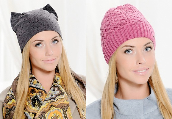 Женские зимние шапки на IssaPlus