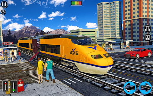 Underwater Bullet Train Simulator : Train Games screenshots 7
