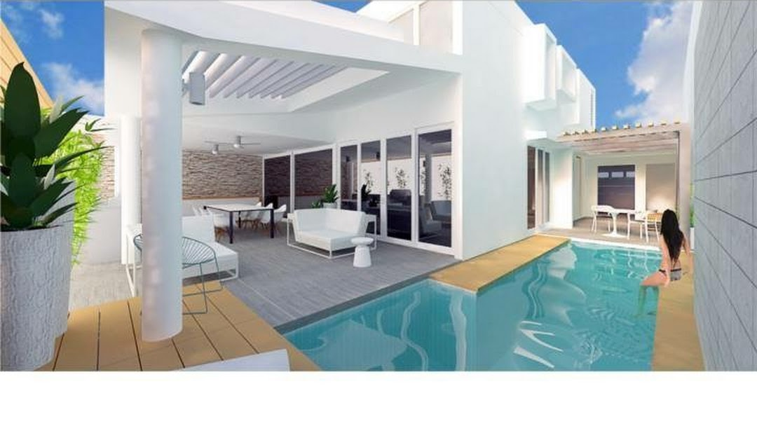 Piscinas Y Terrazas Ideal Woodworking Concret And Pools