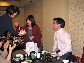 Photo: TGSin長崎代表兼ソリストを務めた袴田容くん、ちょっと早かったけどお誕生日のお祝いをみんなでしました☆