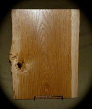 Photo: burr oak tray