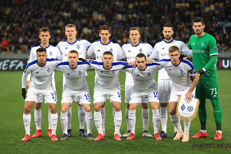 Le Dynamo Kiev prend un coup sur la tête avant d'affronter le Club de Bruges