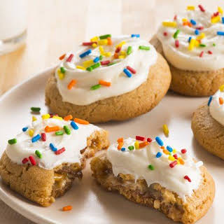 Candy Surprise Peanut Butter Cookies.