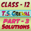 Account Class-12 Solutions (TS Grewal Vol-3) 2018 APK