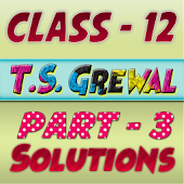 Account Class-12 Solutions (TS Grewal Vol-3) 2018