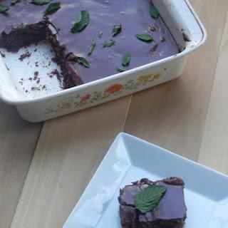 Fudgy Fresh Mint Brownies Recipe