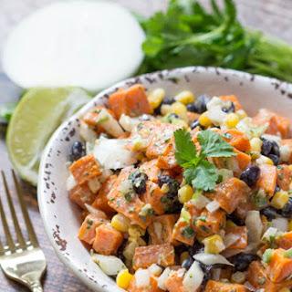 Sweet Potato & Black Bean Salad Recipe