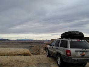 Photo: Swell Jeep parked at the Willow Springs Overlook