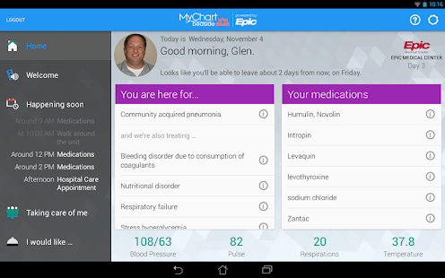 Mychart bedside android apps on google play