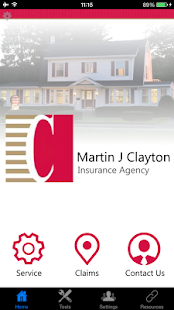 Martin J Clayton Insurance- screenshot thumbnail