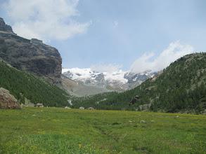 Photo: Uvodna ura in pol dolgega dostopa  do koče Rifugio Guide della Val Ayas ..