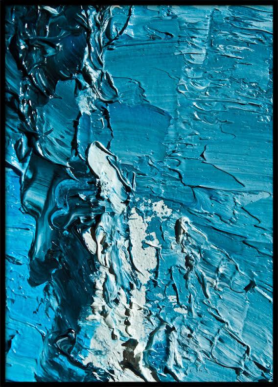 BLUE OIL, POSTER