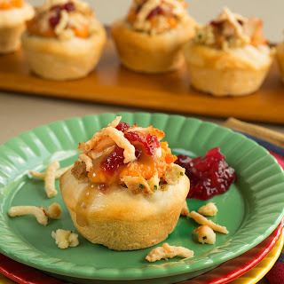 Thanksgiving Leftovers Cupcakes.