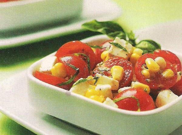 Caprese Corn Salad Recipe