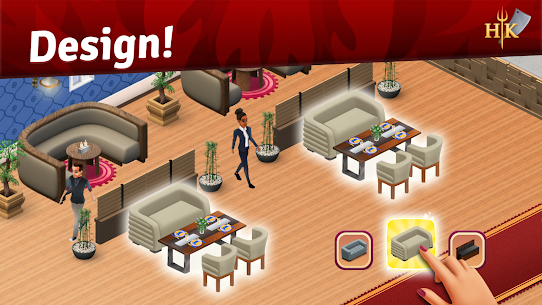 Hell's Kitchen: Match & Design MOD APK (Unlimited Moves) 3