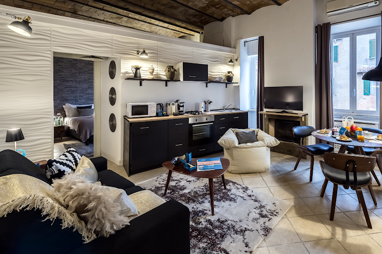 living space at Caracciolo
