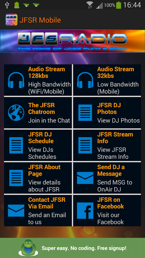 JFSR Mobile v1- screenshot