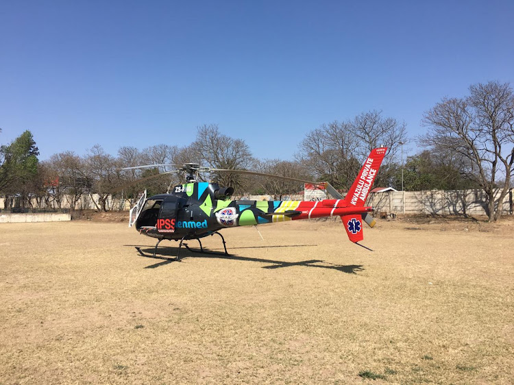 A KZN dairy farmer injured in the Eastern Cape on Tuesday morning has been airlifted to a hospital in Pietermaritzburg.