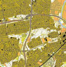 Photo: Helsinki, Oulunkylä. Created from the open data of the National Land Survey of Finland (www.maanmittauslaitos.fi).