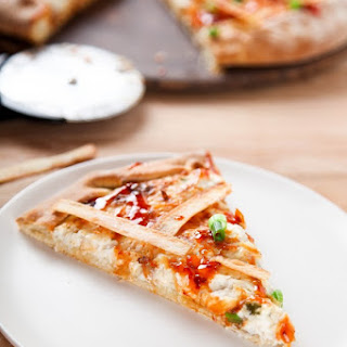 Crab Rangoon Pizza