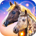Wild Horse Clan: Animal Simulator - groom a herd! icon