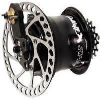 Rohloff Disc-Speedhub 500/14, 142mm Thru-Axle