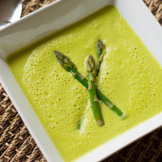 Healthy Cream of Asparagus Soup