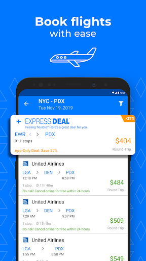 Priceline - Travel Deals on Hotels, Flights & Cars 4.82.217 screenshots 3
