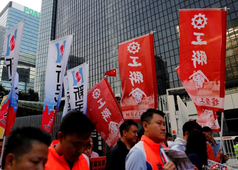 Hong Kong election may be delayed as protests turn violent
