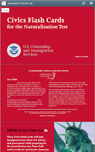 Us Citizenship Flash Cards Android Apps On Google Play