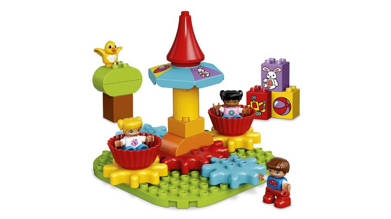 Contenido de Lego® 10845 Mi Primer Tiovivo