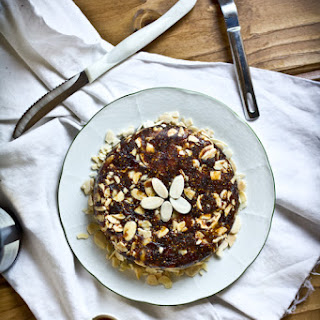 Date, Fig, & Almond Cake with Sea Salt {Gluten-Free}.