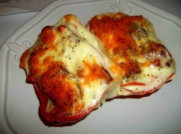 Open Faced Bacon Tomato Pepperoni & Cheese Broil Recipe