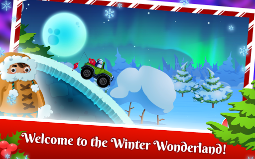 Winter Wonderland Snow Racing