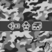 Camouflage Gray Xperien Theme
