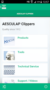 AESCULAP Clippers- screenshot thumbnail