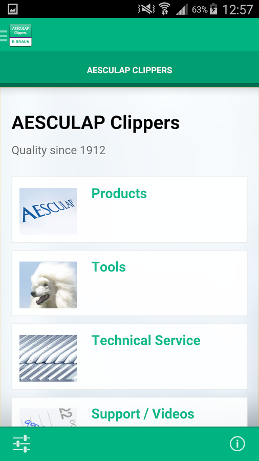 AESCULAP Clippers- screenshot