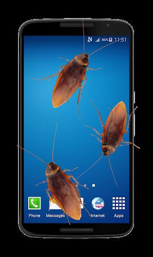 برنامه دست انداختن اندروید Cockroach in Telefon Streich
