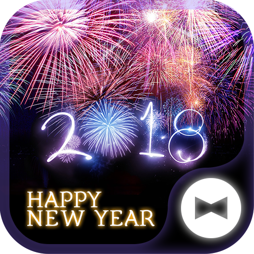 Fireworks Wallpaper Happy New Year 2018Theme Icon