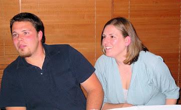 Photo: Josh and Elaine Webb
