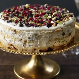 Italian Christmas pudding cake.