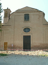 Photo: Ronchi: caduta cuspide della facciata