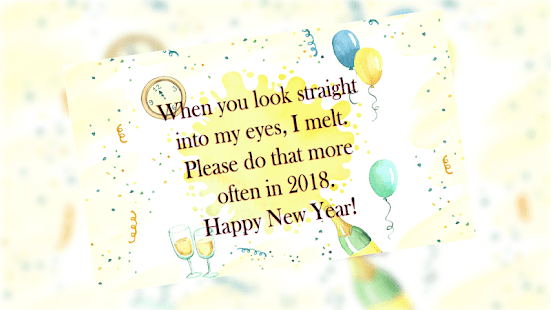 New Year Greetings - náhled