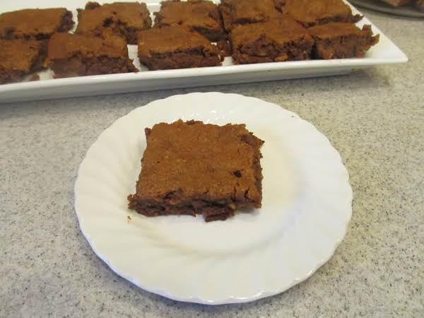 Jamie's Cream Cheese And Walnut Pumpkin Brownie Recipe