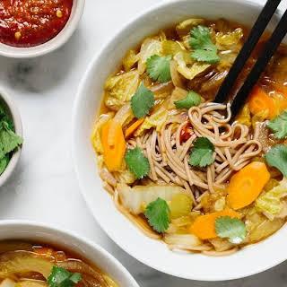 Shoyu Cabbage Soup.