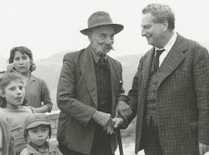 Photo: Aliano 1960, Carlo Levi. Foto di Mario Carbone