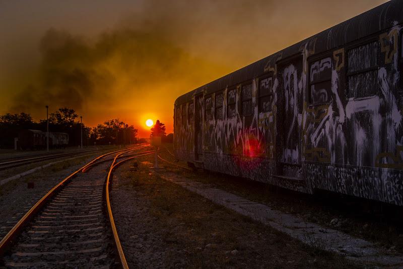 tramonto  di Mirko Monticelli