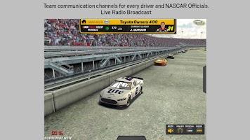 Screenshot of NASCAR RACEVIEW MOBILE